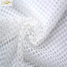 home textiles big holes stretch power net mesh fabric for clothing
