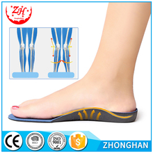 Flat Foot Correction Arch Support Orthopedic Bowlegs Correction EVA Orthotic Shoe Insoles