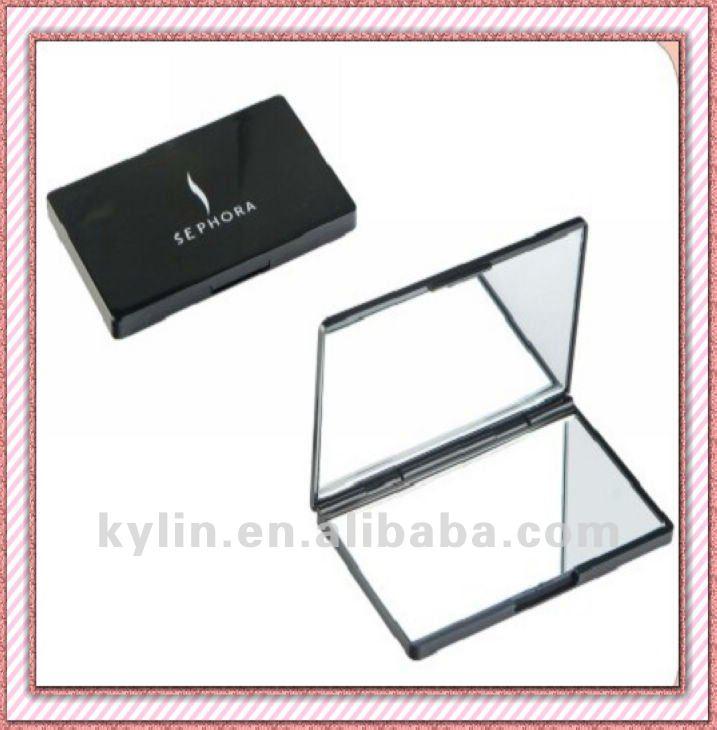 En plastique double face pliage miroir de poche miroir id for Miroir en plastique