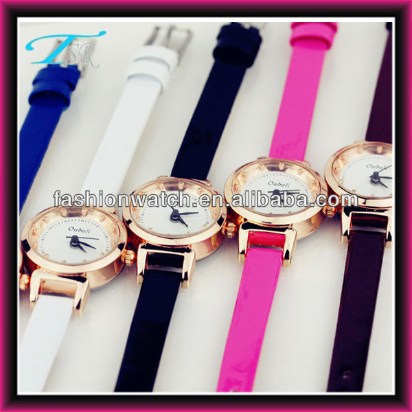 alibaba wholesale china CE&ROHS new 2013 hot custom cheap metal case thin strap new alloy watch