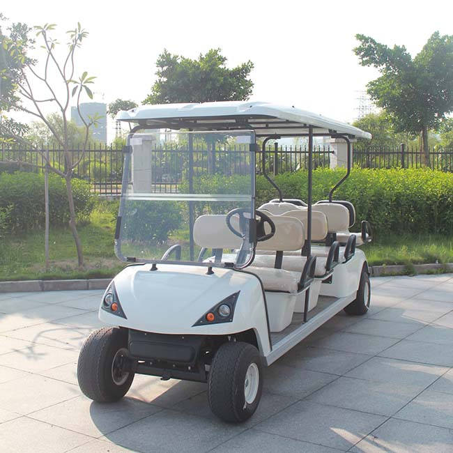 8 Seater Electric Airport Golf Buggy with CE certificate DG-C6+2