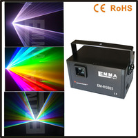 3 watt rgb full color animation Laser With ILDA +SD Outdoor LOGO,advertisement equipment,animation laser light for outdoor
