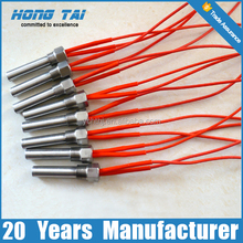 Powerful screw type water immersion cartridge heater