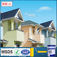 Alkaline resistance water-based wall paints