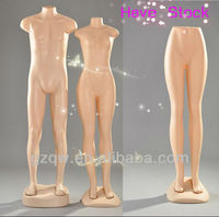 2013 popular female plastic leg mannequin in Luanda