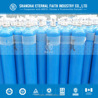 2015 ISO9809-3 40L High Pressure Seamless Steel Oxygen Gas Cylinder Oxygen Gas Bottle with High Quality