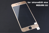 mobile phone tempered glass for iphone 6 color full cover tempered glass screen protector