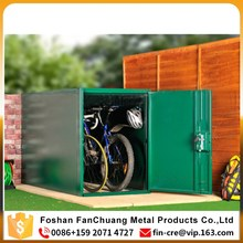 Outdoor bike storage shed cabinet waterproof bike locker,Public Steel Furniture Bicycle Locker/ Bike Storage
