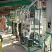corn peeling and grits making machine/corn flour milling machine