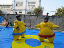 Hot sale fighting inflatable sumo suit,sumo wrestling suit for sale