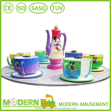 China coffee cup amusement park ride manufacturer