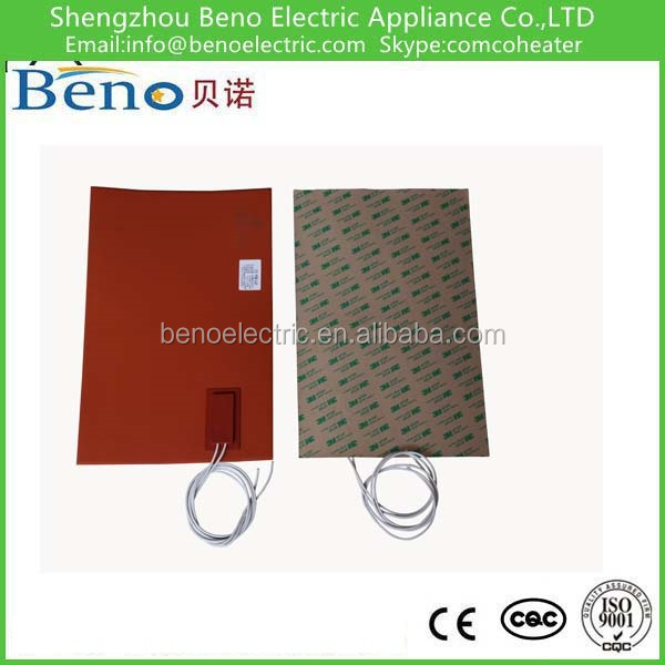 silicone rubber heating pad panel with temperature controller