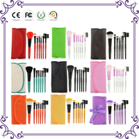 Shenzhen Great Miracle cosmetic brush synthetic personalized makeup brush with makeup brush bag