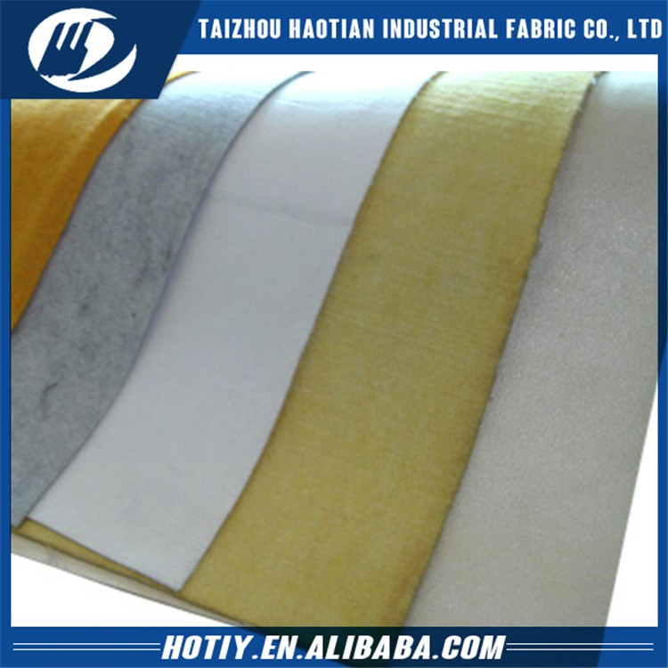 Customized thick craft needle punch nonwoven felt