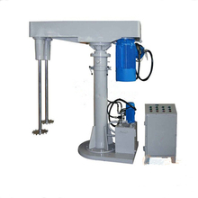 pvc high speed dual shaft mixer dissolver
