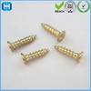 Supply Gold Flat Head Phillips Deep Thread Wood Screws