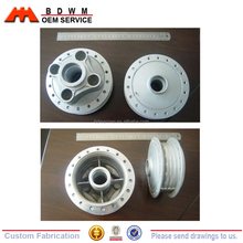 China die casting Motorcycle alloy wheel parts