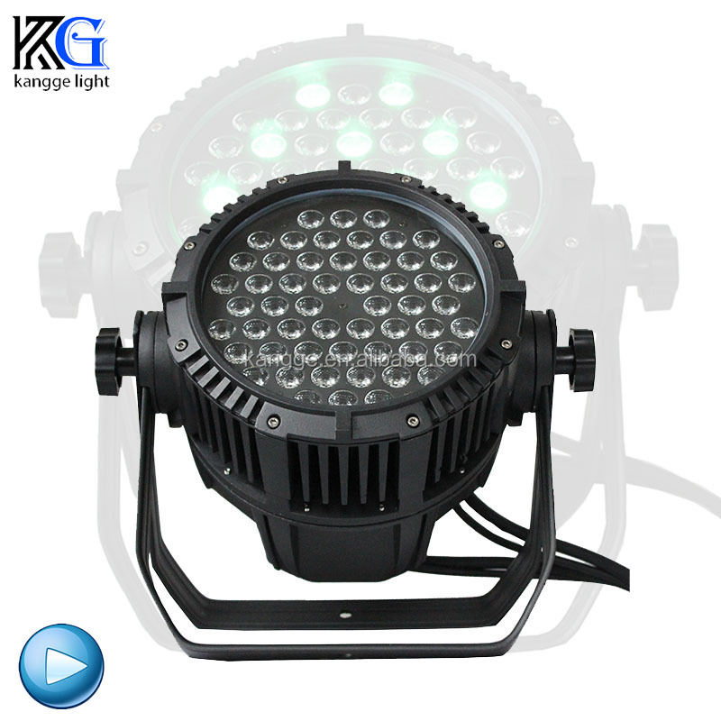 Stage Lighting Ip65 Waterproof 8 Channels Control Dmx512 54Pcs Led Par Light