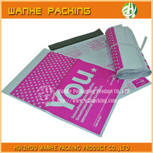 Wholesale own logo print bag custom poly envelope poly mailers plastic bag colored printed--HZWHB751