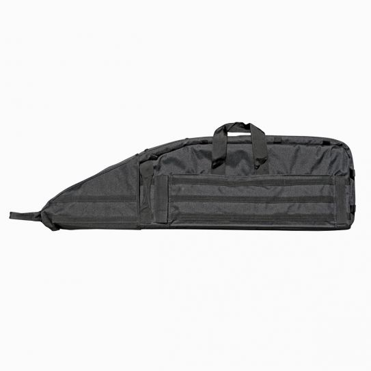 Tactical Drag Bag with Backpack Straps Compact 38 Inch Rifle Case Black