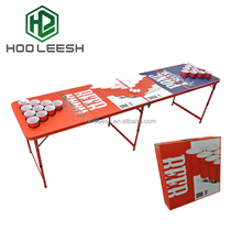 folding table/table folding with metal folding legs/suitcase folding table