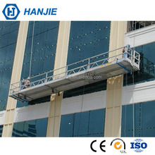 Galvanized Steel lift scaffolding platform glass building cleaning equipment