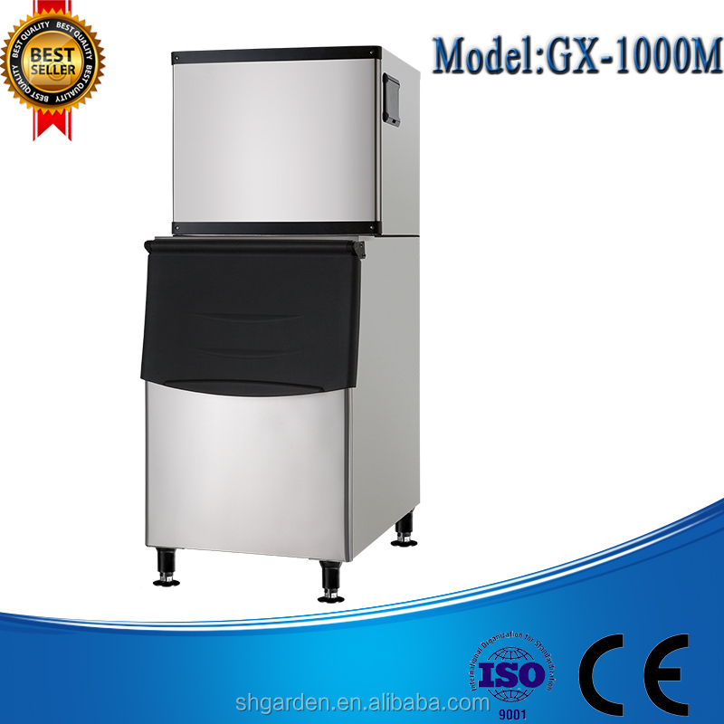 Hotel Free Standing Industrial Ice Cube Making Machine/Fishing Boat Ice Machine