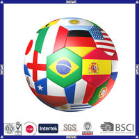 machine stitched OEM made in China best choice for flag soccer ball