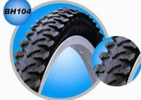 Wear resisting natural rubber bicycle tire 26*2.125