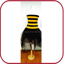 Sexy lady dress child bee costume cosplay halloween costume PGFC-2774