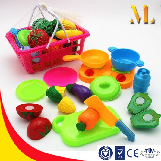 kitchen toys diy education toys children baby gifts cut fruit vegetables games