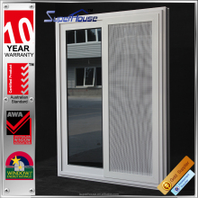 Aluminum profile glass sliding window materials/aluminum framed double glazed sliding window with as2047