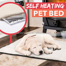 Winter Self-heating Thermo Thermal Cushioned Pet Dog Cat Bed Mat