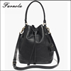 2017 Italy cow leahter hand bags fashion bucket bag wholesale china handbag for wholesale