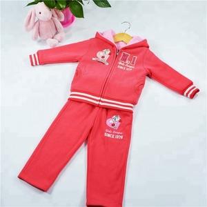 best selling double side wear 2pcs hoodies kid clothing set