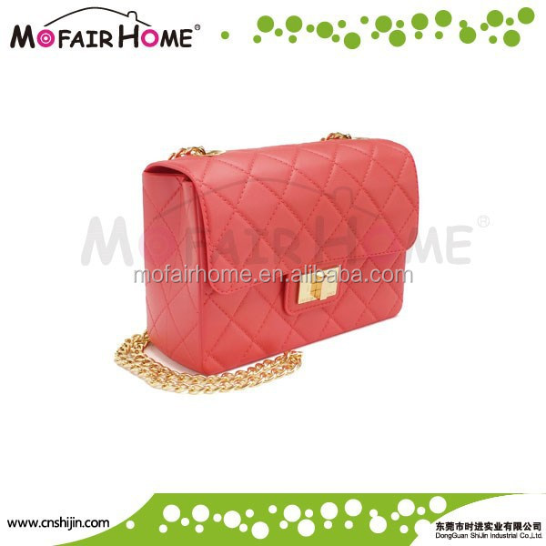Medium Satchel Top Handle Bag/pinky color