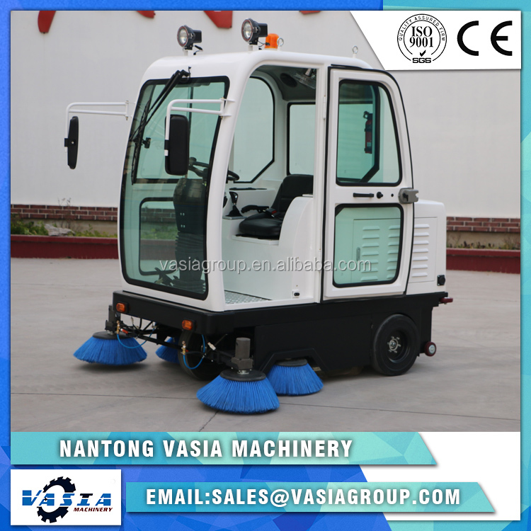 New Style automatic commercial Smart Ride-on street sweeper / road sweeping machine MD-1260A