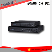 CCTV Security System HDMI ONVIF HDD h264 1080p 16ch Hybrid all in one DVR