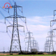 400kv hot dip galvanized double circuit overhead transmission line tower