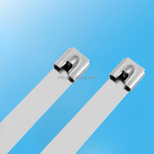 Self-Locking Type and Stainless steel Material 304 Ball Cable Tie 12mmx360mm