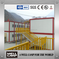 Widely Used Light Steel Living Prefab Container Houses