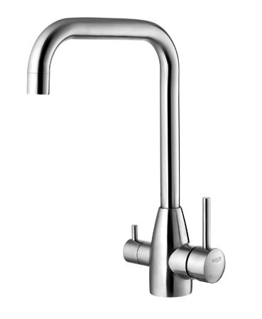 Home commonly used water saving single handle upc kitchen faucet