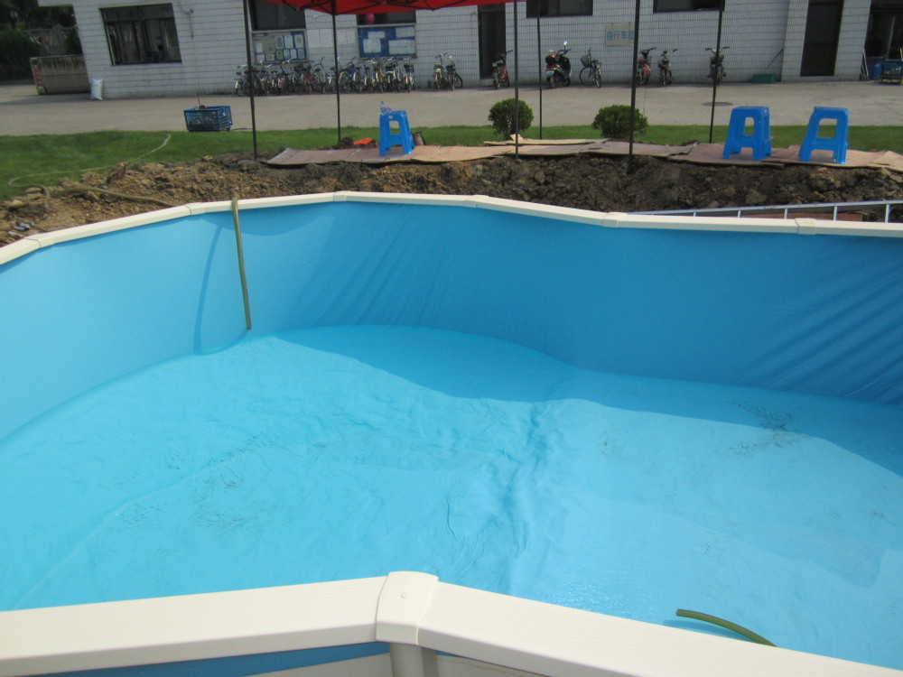 Durable above/partial/complete in ground pool galvanized steel swimming pool for hot sale