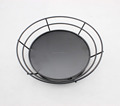 549-65 Metal Wire fruit basket with black powder coated