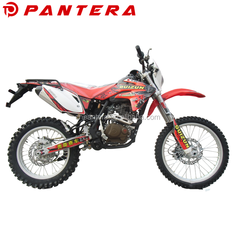 High Performance Sports Off Road Front Rear Disc Brake Motocicletas De Enduro 250cc