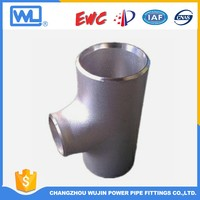 "Pipe Joint Welding Size 6"" Stainless Steel Tee"