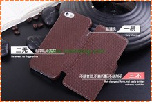 Fashionable Magnetic Flip Wallet Leather Case for iPhone 5