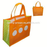 Hot sale pp promotional non-woven laminated fabric shopping bag with print,custom design and logo color,OEM orders are welcome