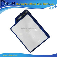 DR026 3X Large Area PVC Flexible Plastic Card Magnifying Glass Sheet