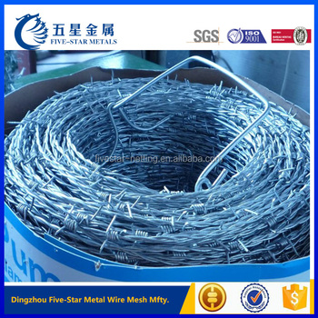 cheap barbed wire roll price weight per meter length